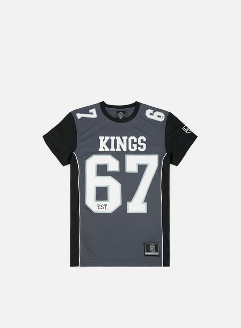 t shirt majestic dene poly mesh t shirt la kings grey