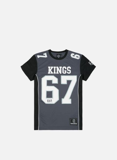 Outlet e Saldi T-shirt a manica corta Majestic Dene Poly Mesh T-Shirt LA Kings