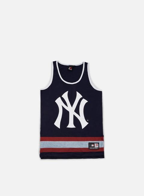 Outlet e Saldi Canotte Majestic Eldridge Jersey Vest NY Yankees