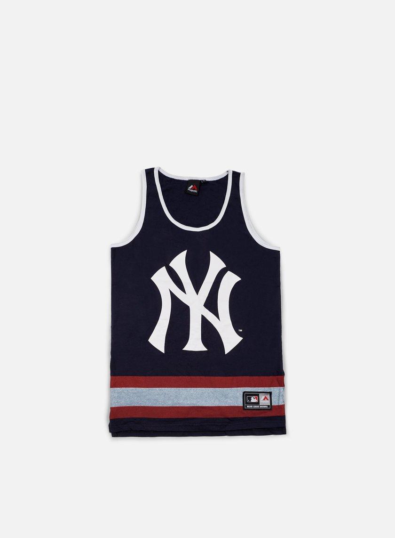 Majestic - Eldridge Jersey Vest NY Yankees, Navy