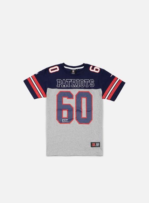 Outlet e Saldi T-shirt a manica corta Majestic Grapher NFL Coach T-shirt New England Patriots