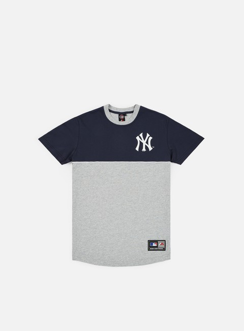 Outlet e Saldi T-shirt a Manica Corta Majestic Hawser Panel Raglan T-shirt  NY Yankess