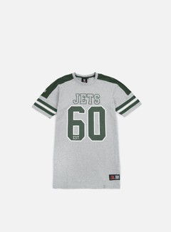 Majestic - Incent NFL Coach T-shirt NY Jets, Heather Grey