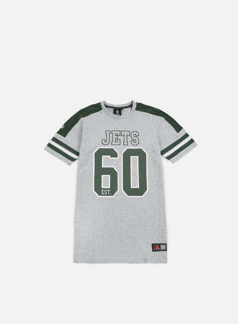 Outlet e Saldi T-shirt a Manica Corta Majestic Incent NFL Coach T-shirt NY Jets