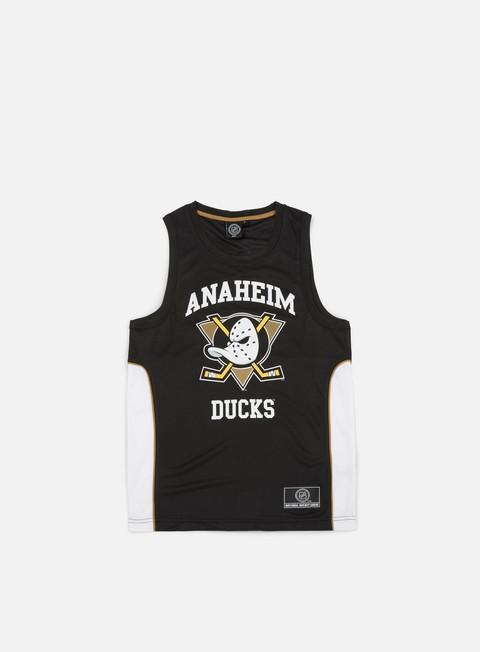 Outlet e Saldi Canotte Majestic Jonser Poly Mesh Singlet Anaheim Ducks