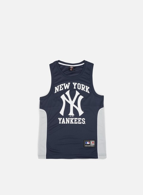 Sale Outlet Tank Top Majestic Jonser Poly Mesh Singlet NY Yankees