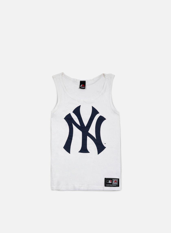 Majestic - Limner Jersey Vest NY Yankees, White
