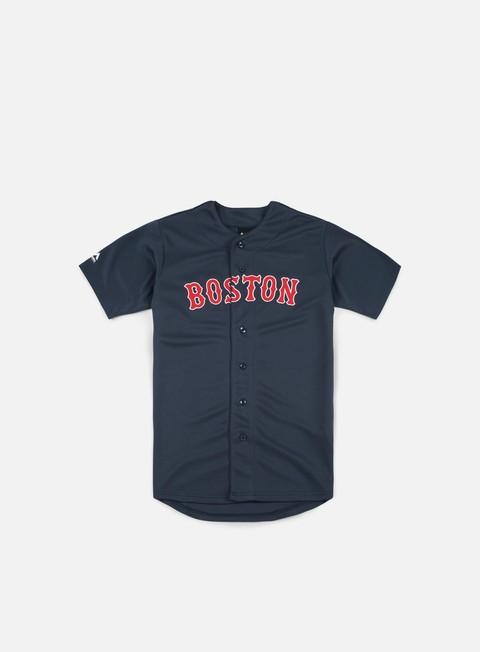 Outlet e Saldi T-shirt a manica corta Majestic MLB Replica Jersey Boston Red Sox