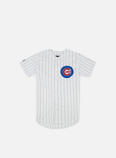 T-shirt a Manica Corta Majestic MLB Replica Jersey Chicago Cubs