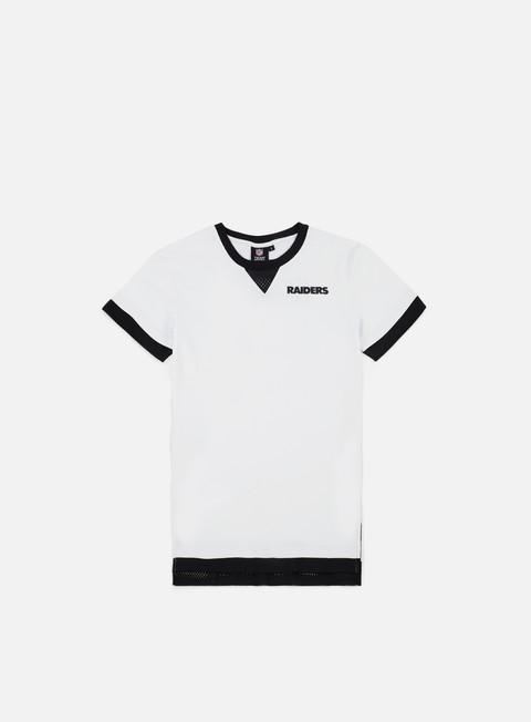 Outlet e Saldi T-shirt a manica corta Majestic Mock Layer T-shirt Oakland Raiders