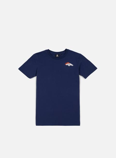 Sport Team T-shirts Majestic NFL Helmet Logo T-shirt Denver Broncos