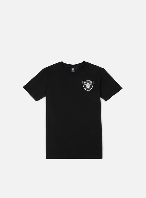 Sale Outlet Short Sleeve T-shirts Majestic NFL Helmet Logo T-shirt Oakland Raider