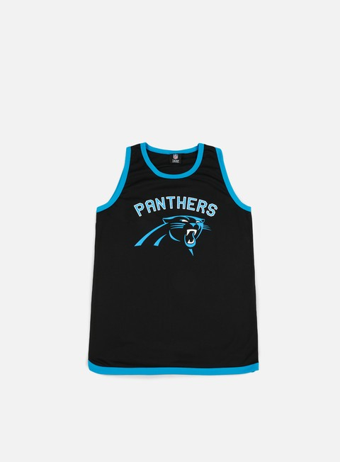 Majestic Poly Graphic Vest Carolina Panthers