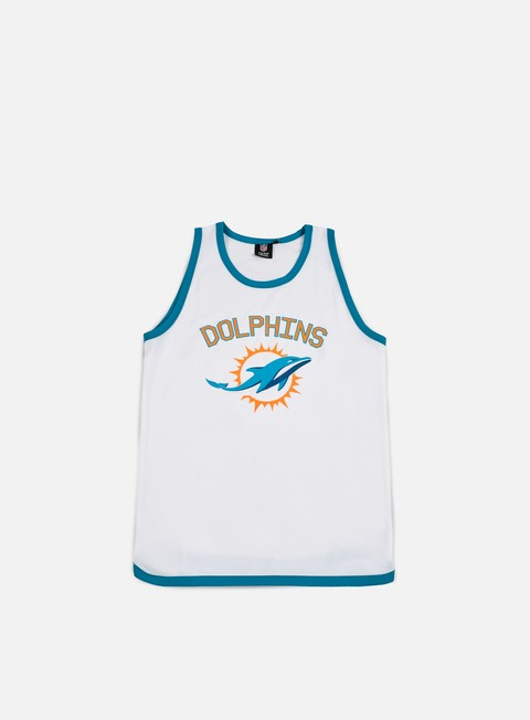 t shirt majestic poly graphic vest miami dolphins white
