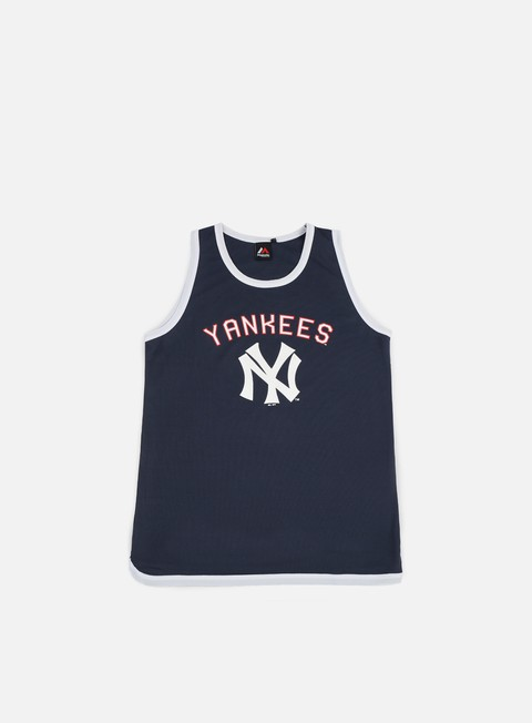 t shirt majestic poly graphic vest ny yankees navy