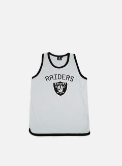Majestic - Poly Graphic Vest Oakland Raiders, Heather Grey 1
