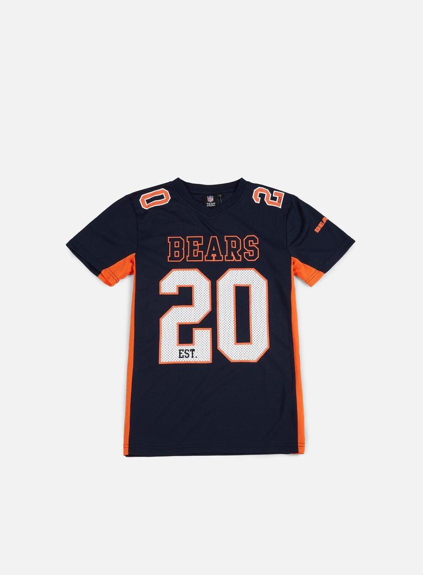 Majestic - Poly Players T-shirt Chicago Bears, Navy