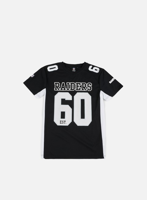 T-shirt a Manica Corta Majestic Poly Players T-shirt Oakland Raiders