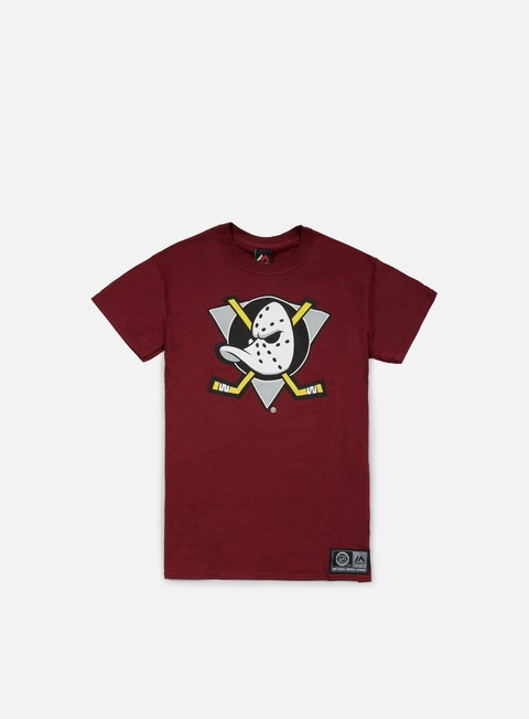 T-shirt Squadre Sportive Majestic Prism Large Logo T-shirt Anaheim Ducks