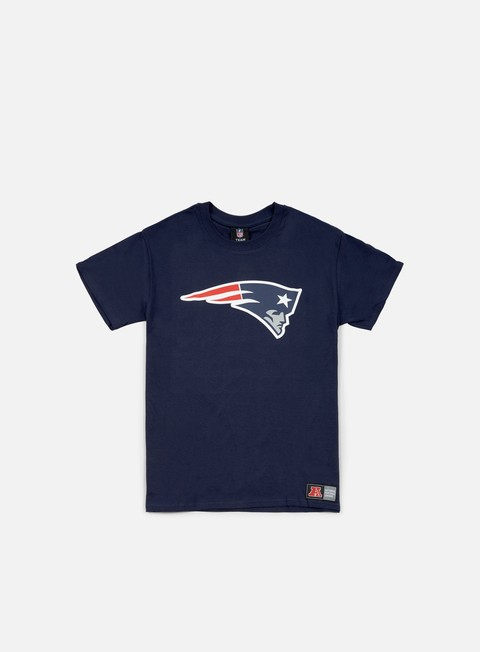 t shirt majestic prism large logo t shirt new england patriots navy