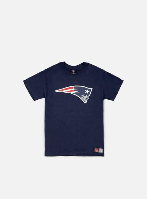 Outlet e Saldi T-shirt a manica corta Majestic Prism Large Logo T-shirt New England Patriots
