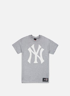 Majestic - Prism Large Logo T-shirt NY Yankees, Heather Grey