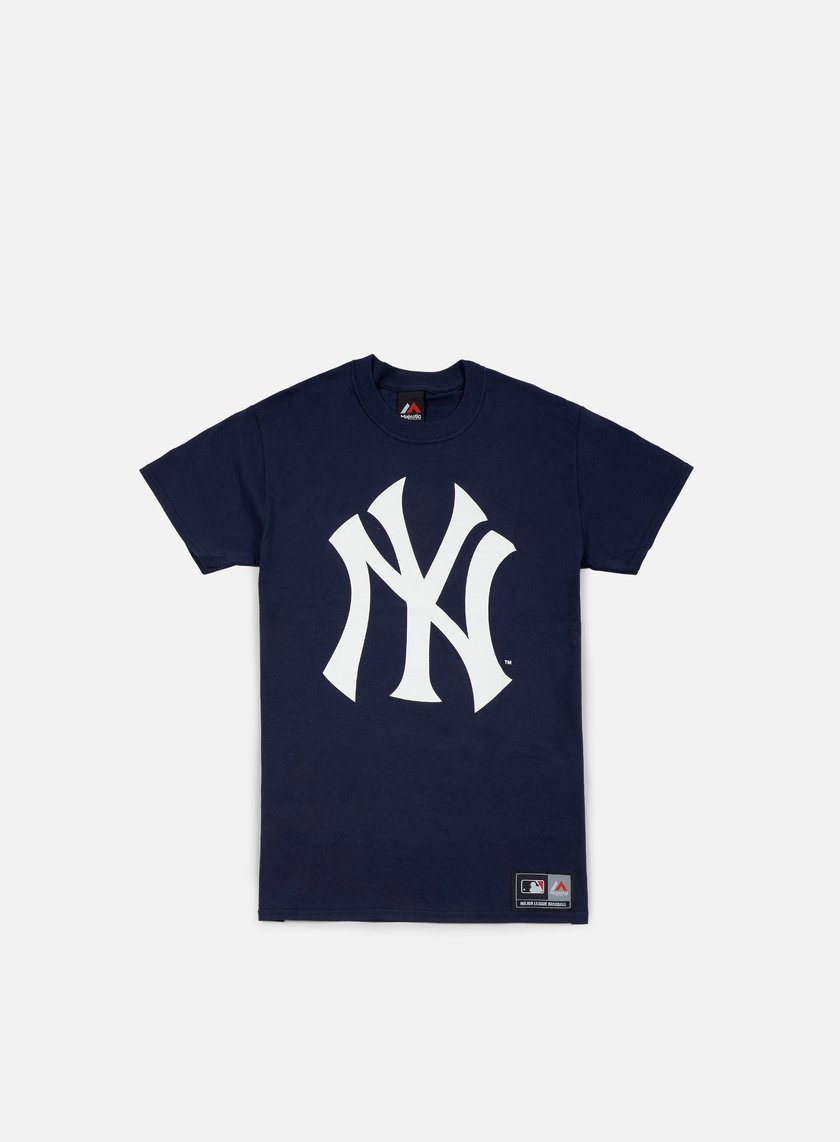 Majestic - Prism Large Logo T-shirt NY Yankees, Navy