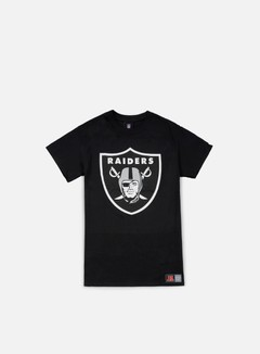 Majestic - Prism Large Logo T-shirt Oakland Raiders, Black 1