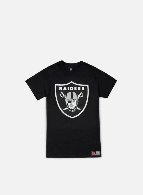 T-shirt Squadre Sportive Majestic Prism Large Logo T-shirt Oakland Raiders
