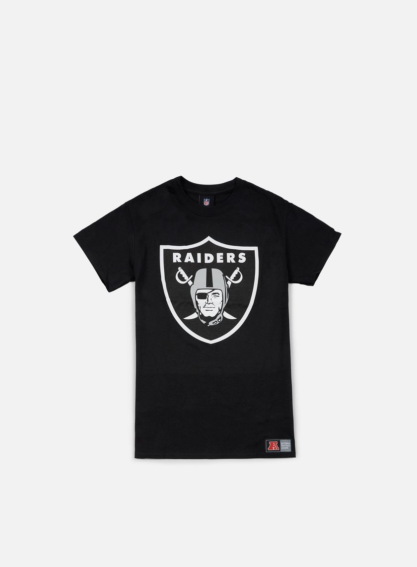 Majestic - Prism Large Logo T-shirt Oakland Raiders, Black