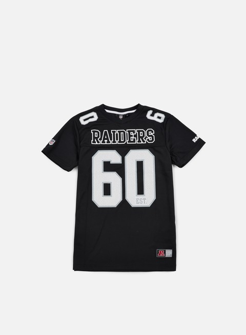 T-shirt a Manica Corta Majestic Puerco Poly Players Jersey Oakland Raiders