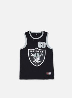 Majestic - Renfew Mesh Vest Oakland Raiders, Black 1