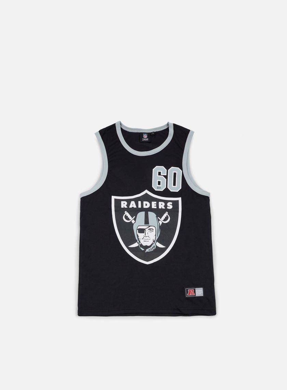 Majestic - Renfew Mesh Vest Oakland Raiders, Black