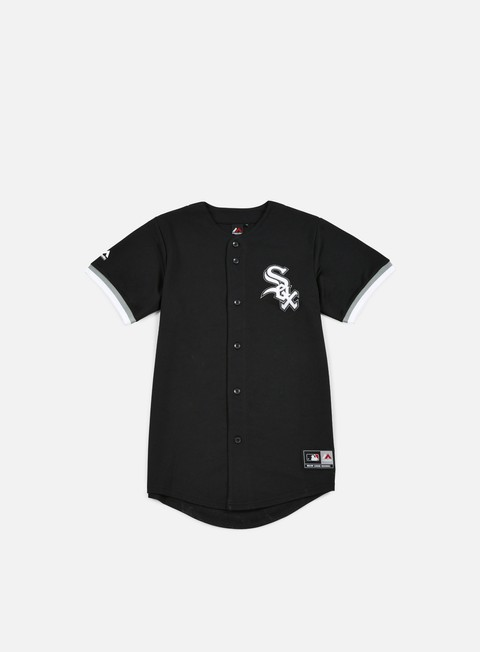 Short Sleeve T-shirts Majestic Replica Jersey Chicago White Sox