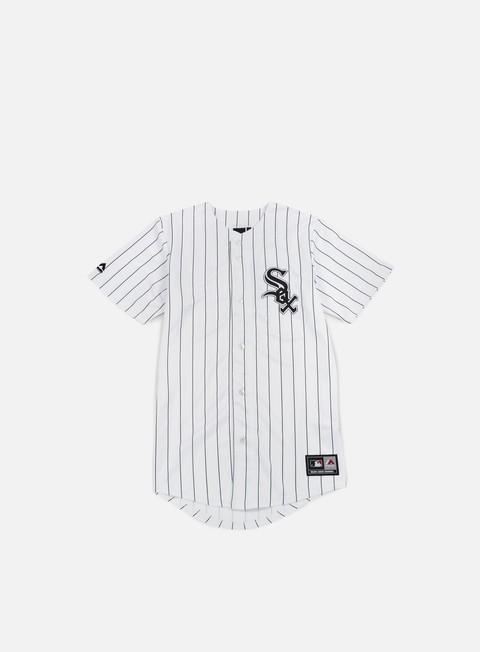 Outlet e Saldi T-shirt a Manica Corta Majestic Replica Jersey Chicago White Sox
