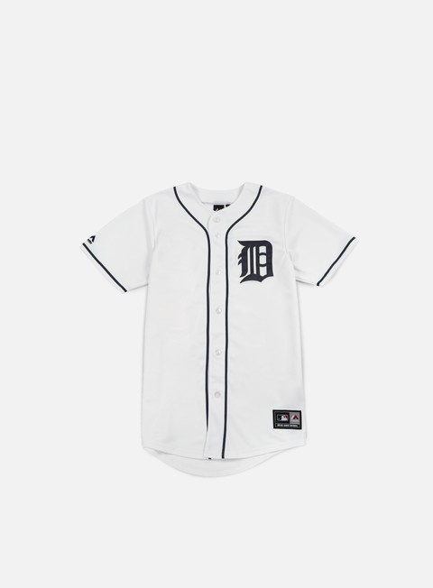 Sale Outlet Short Sleeve T-shirts Majestic Replica Jersey Detroit Tigers
