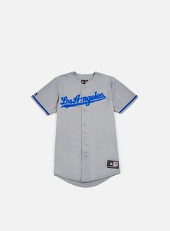 Majestic - Replica Jersey LA Dodgers, Road Grey