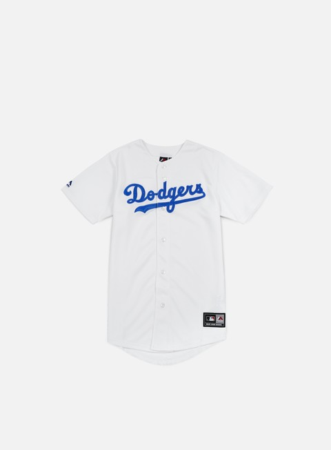 t shirt majestic replica jersey la dodgers white