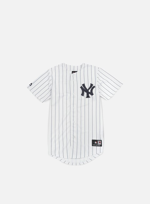 t shirt majestic replica jersey ny yankees white