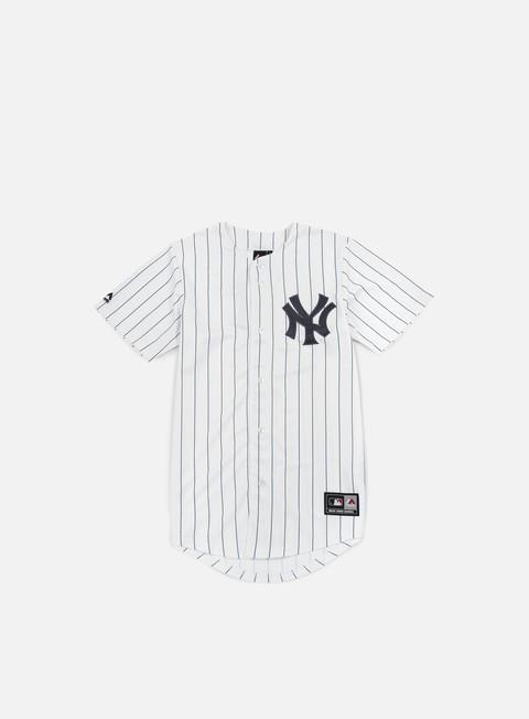 Outlet e Saldi T-shirt a manica corta Majestic Replica Jersey NY Yankees