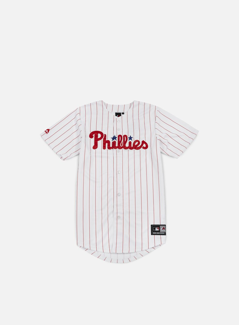 Majestic - Replica Jersey Philadelphia Phillies, White