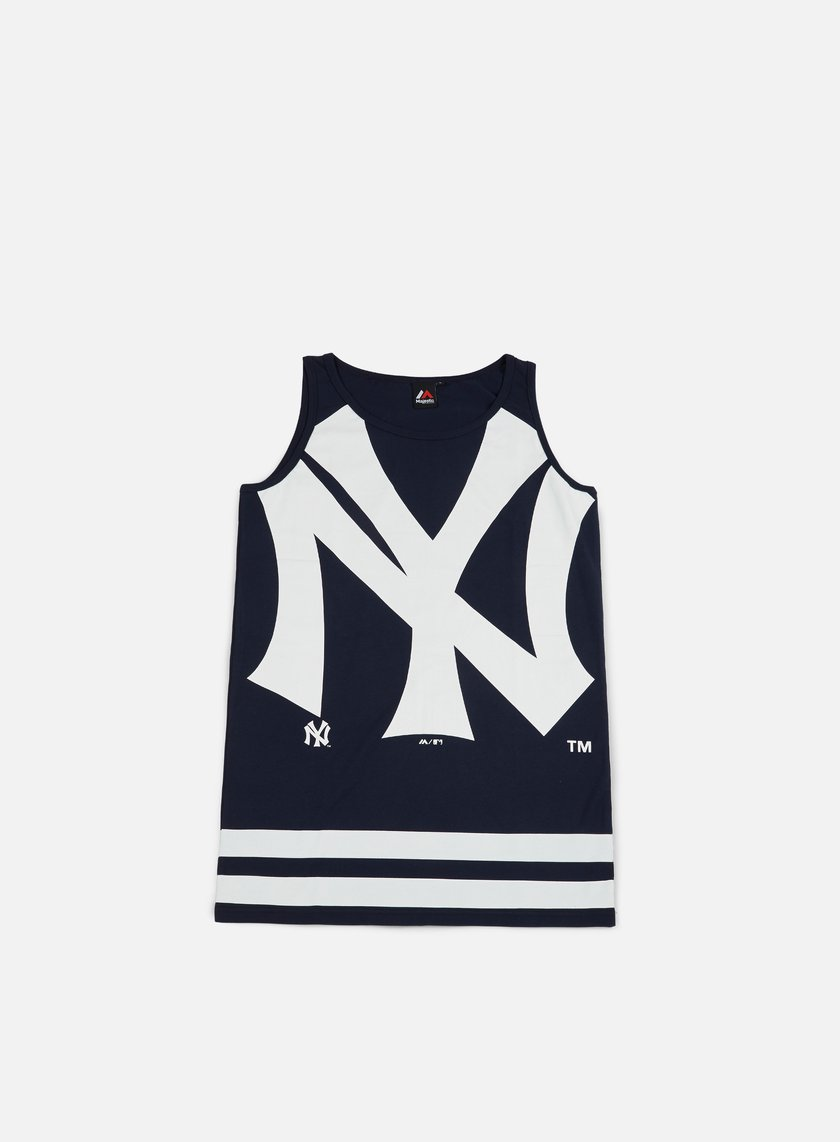 Majestic - Rewar Graphic Vest NY Yankees, Navy