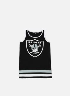 Majestic - Rewar Graphic Vest Oakland Raiders, Black 1