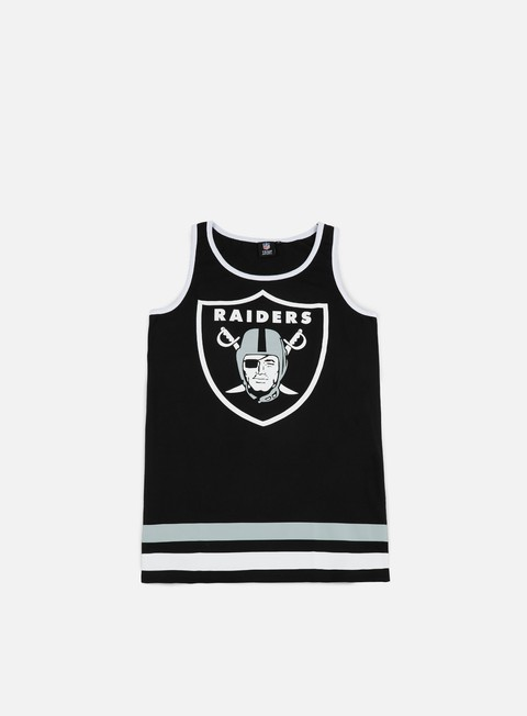 Outlet e Saldi Canotte Majestic Rewar Graphic Vest Oakland Raiders