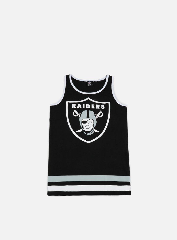 Majestic - Rewar Graphic Vest Oakland Raiders, Black