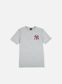 Majestic - Tovey Longline Logo T-shirt NY Yankees, Heather Grey