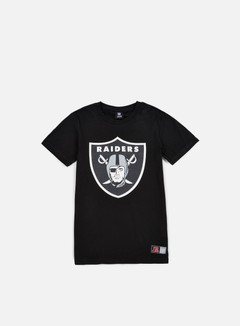 Majestic - Valen Large Logo T-shirt Oakland Raiders, Black 1