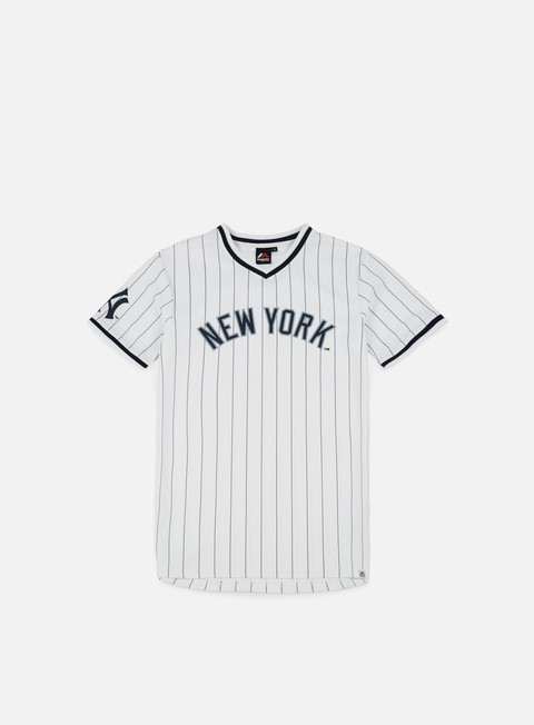 Short Sleeve T-shirts Majestic Woodner T-shirt NY Yankees