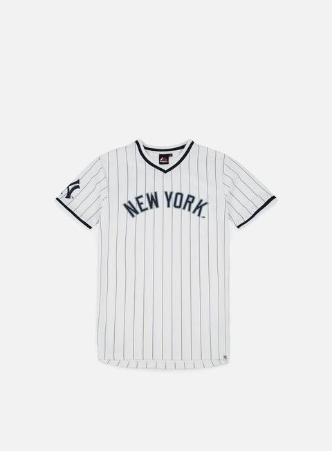 Outlet e Saldi T-shirt a manica corta Majestic Woodner T-shirt NY Yankees