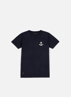 Makia - Anchor T-shirt, Indigo 1